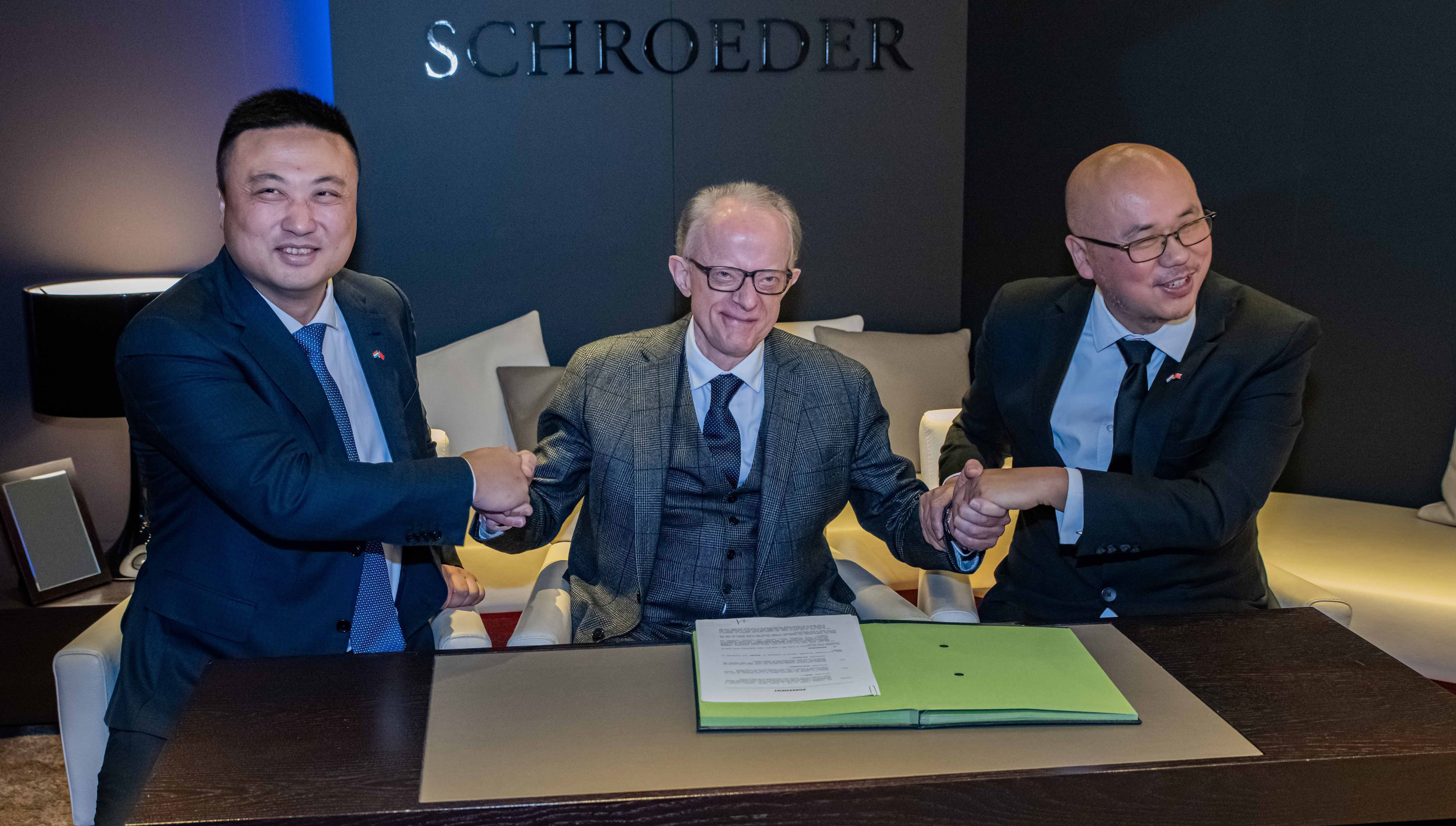 NEW PARTNER FOR SCHROEDER JOAILLIERS IN ASIA !