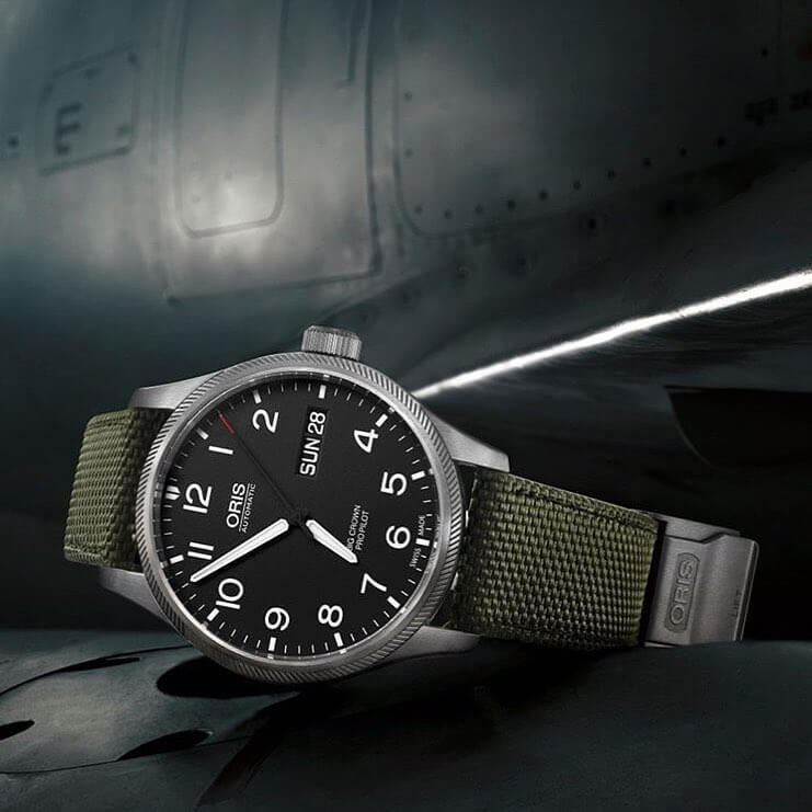 Independent swiss watch brand ORIS now available at Schroeder Joailliers !
