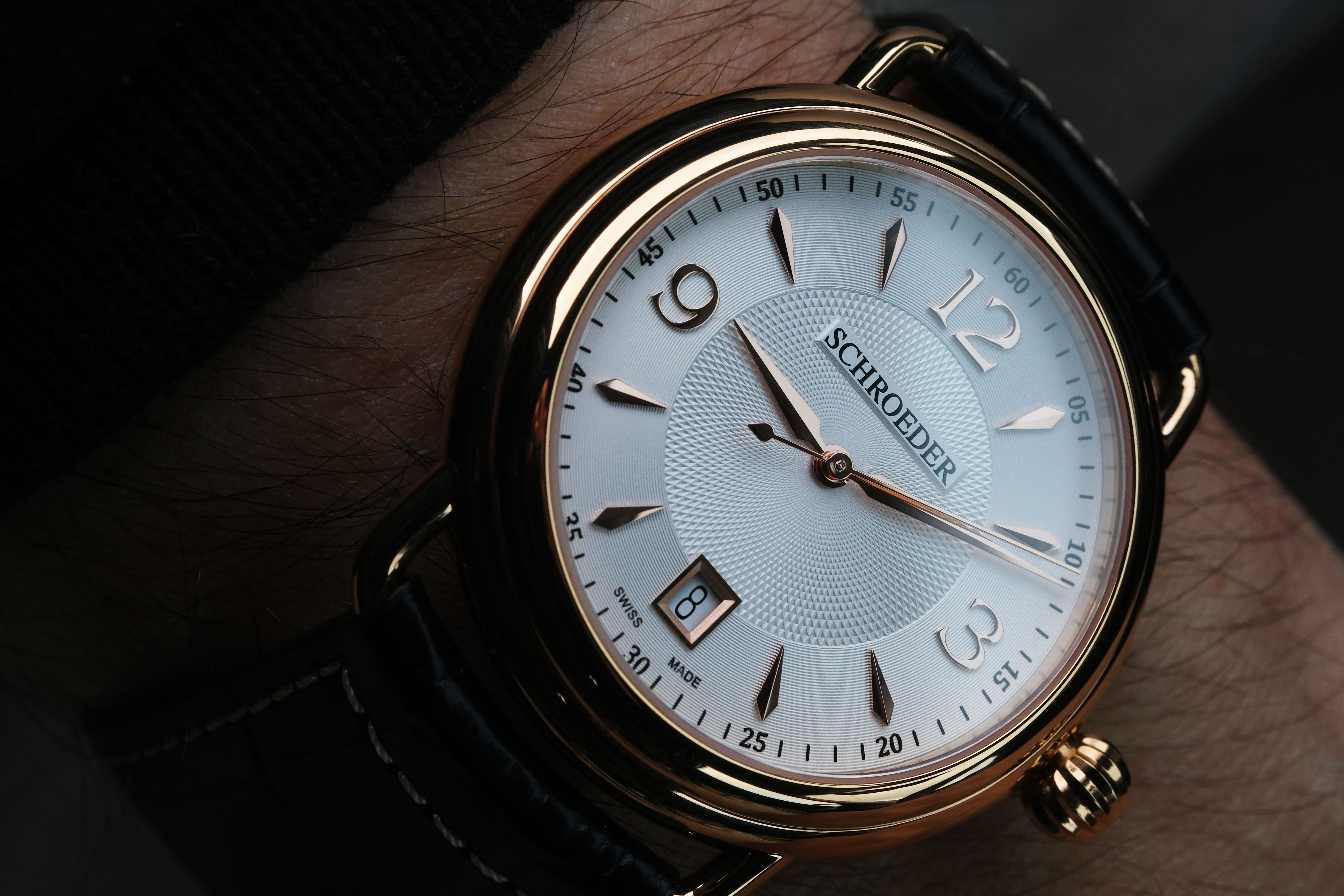NEW FACE FOR THE ETRIER COLLECTION OF SCHROEDER TIMEPIECES WATCHES