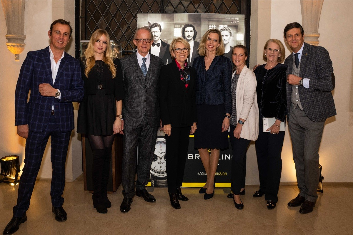 SCHROEDER & BREITLING  celebrate the start of their collaboration !