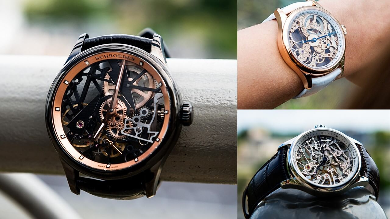 The new Schroeder skeleton watches have arrived !