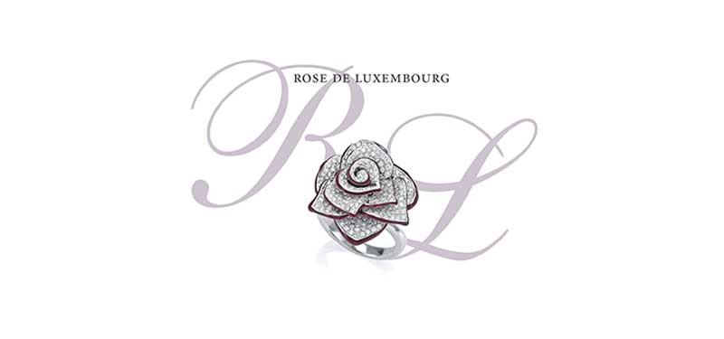 Collection « Rose de Luxembourg » signée Schroeder Joailliers